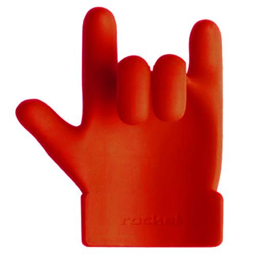 Держатель-подставка Rocket Chef Hero красного цвета, фото