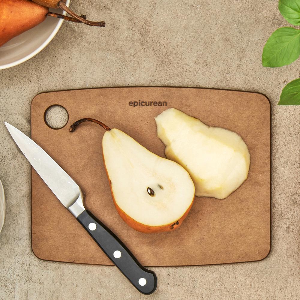 Доска разделочная Epicurean Kitchen коричневого цвета 30,5х22,8см