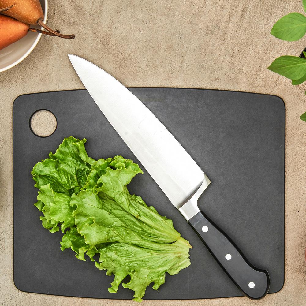 Доска разделочная Epicurean Kitchen серого цвета 38х28см