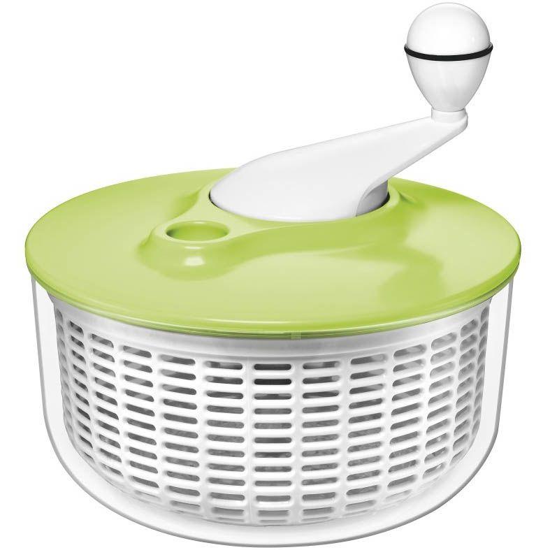 Сушка Silit Kitchen Utensils бело-зеленая для салата и зелени