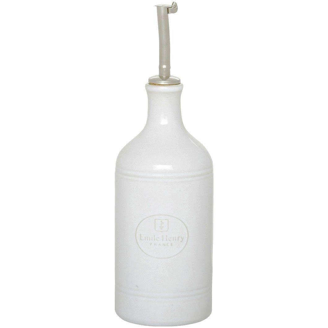 Бутылка для масла и уксуса Emile Henry Classique Blanc керамическая 450 мл