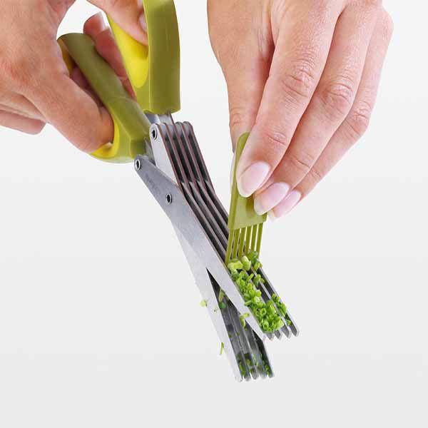 Ножницы для зелени Brabantia с силиконовой щеточкой