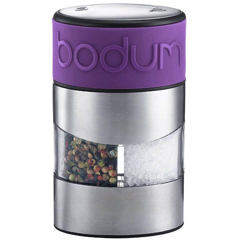 Мельница для соли и перца Bodum фиолетового цвета