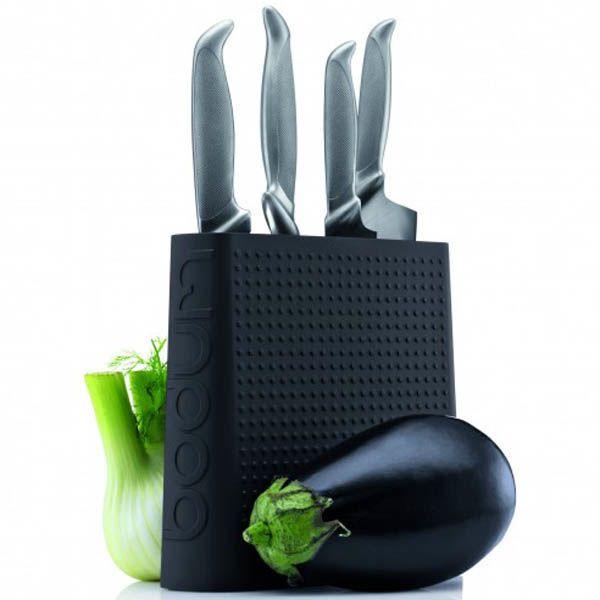 Подставка для ножей Bodum Bistro черная