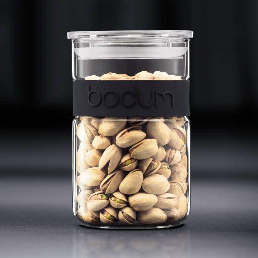 Банка для продуктов Bodum Presso черная 1 л