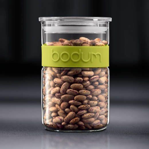 Банка для продуктов Bodum Presso зеленая 1 л