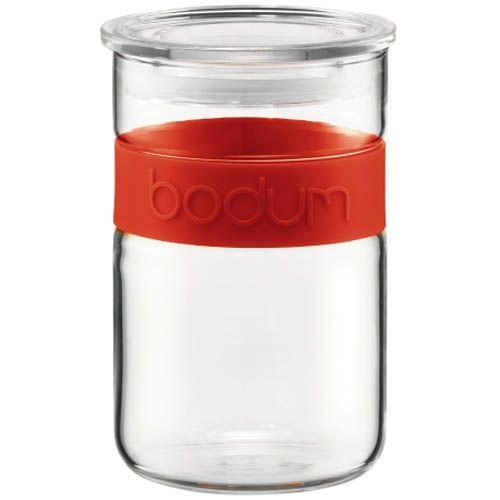 Банка для продуктов Bodum Presso красная 0.6 л
