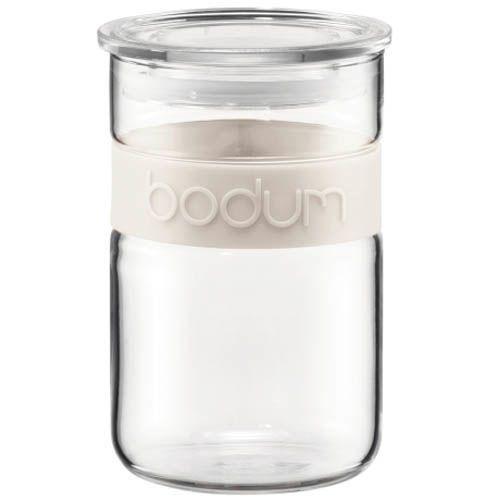 Банка для продуктов Bodum Presso белая 0.6 л