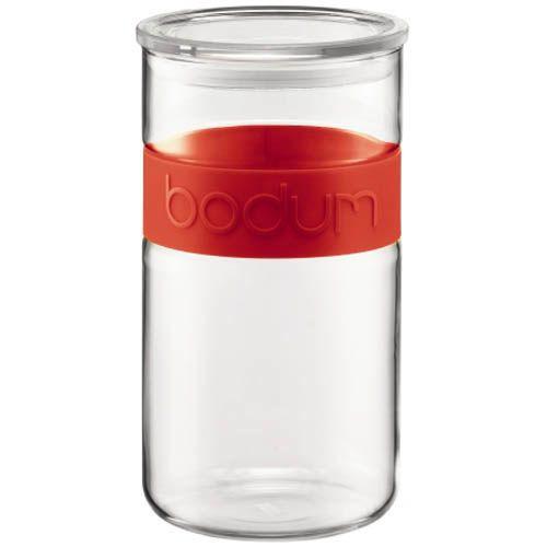 Банка для продуктов Bodum Presso красная 2 л