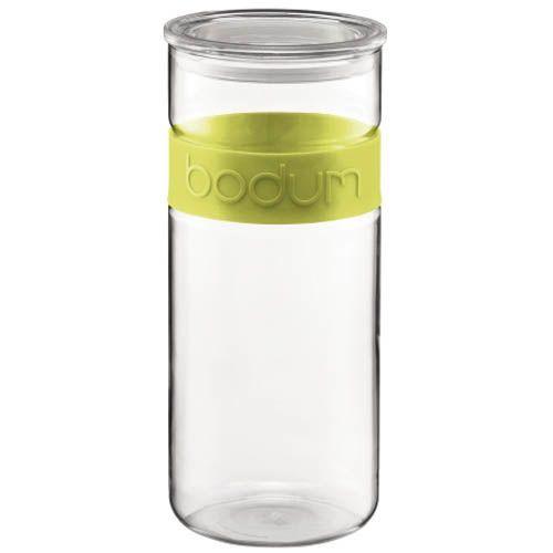 Банка Bodum Presso для продуктов зеленая 2,5 л