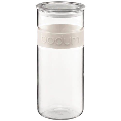 Банка Bodum Presso для продуктов белая 2,5 л