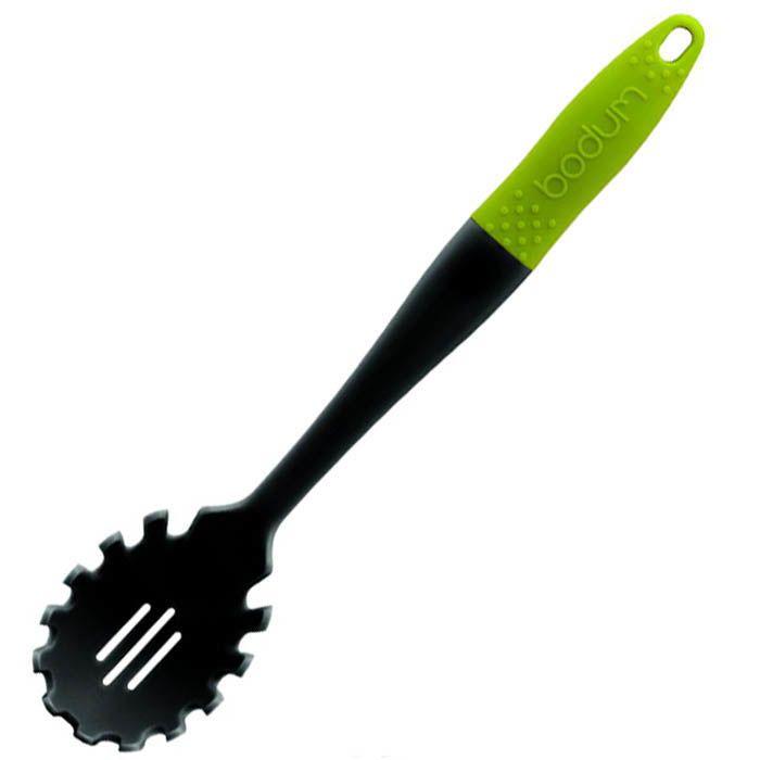 Ложка для спагетти Bodum с зеленой ручкой