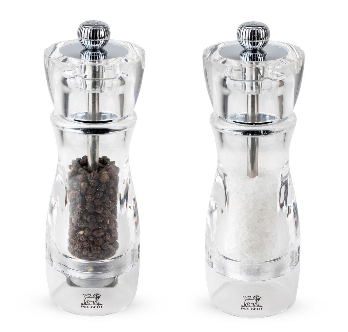 Мельница прозрачная Peugeot Vittel для соли