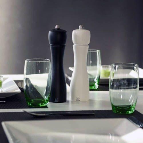 Набор мельниц для соли и переца Peugeot Tahiti 20 см черно-белый