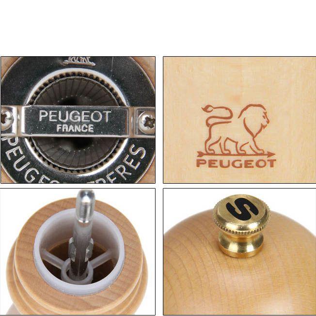 Мельница для соли Peugeot Paris U Natural из бука 12 см