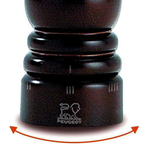 Мельница для соли Peugeot Paris U темно-коричневая из бука 22 см