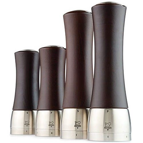 Мельница для перца Peugeot Madras U 21 см цвета темного шоколада