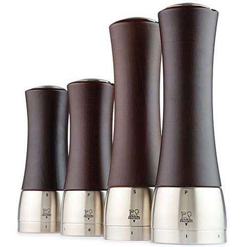Мельница для соли Peugeot Madras U 21 см цвета темного шоколада