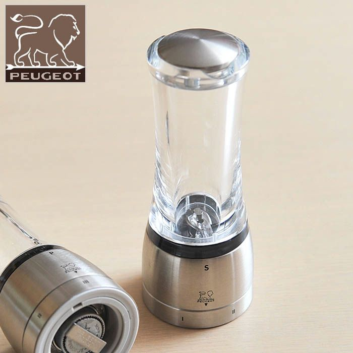 Мельница для соли Peugeot Daman U 16 см прозрачная