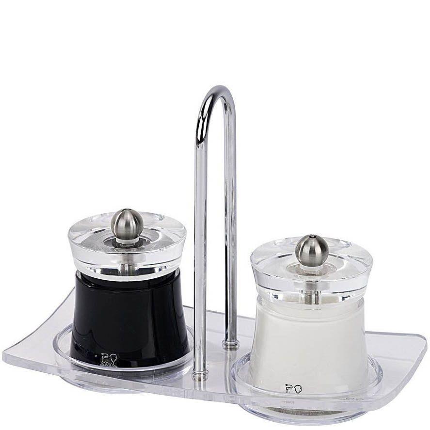 Мельница для перца Peugeot Bali черная 8 см