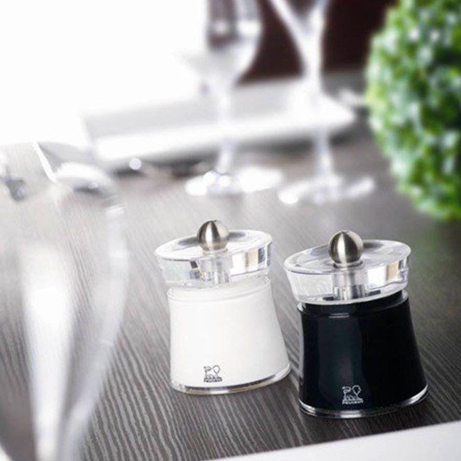 Мельница для соли Peugeot Bali белая 8 см
