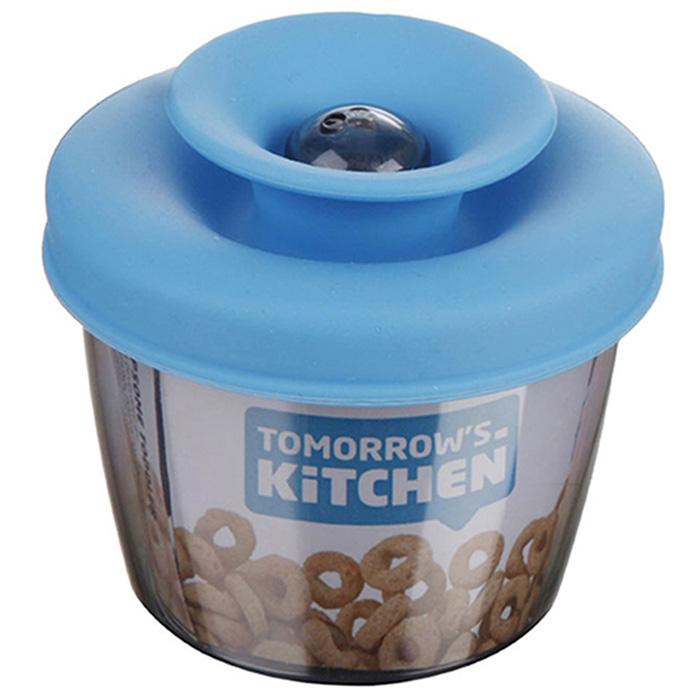 Дозатор для завтрака Vacu Vin PopSome голубого цвета