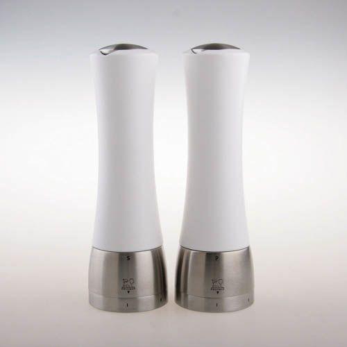 Мельница для соли Peugeot Madras U 21 см белая