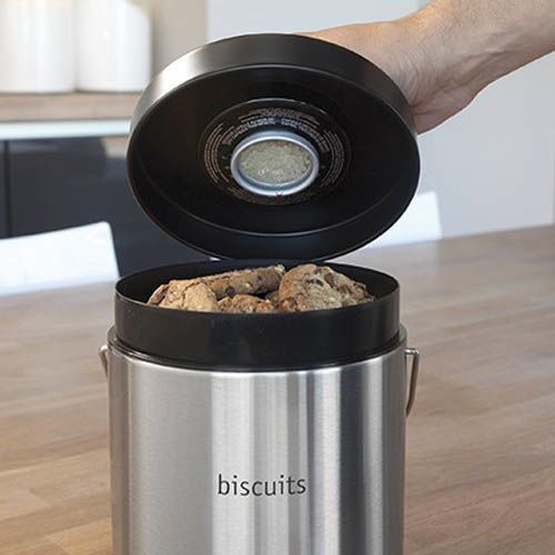 Емкость Brabantia для хранения печенья из матовой стали