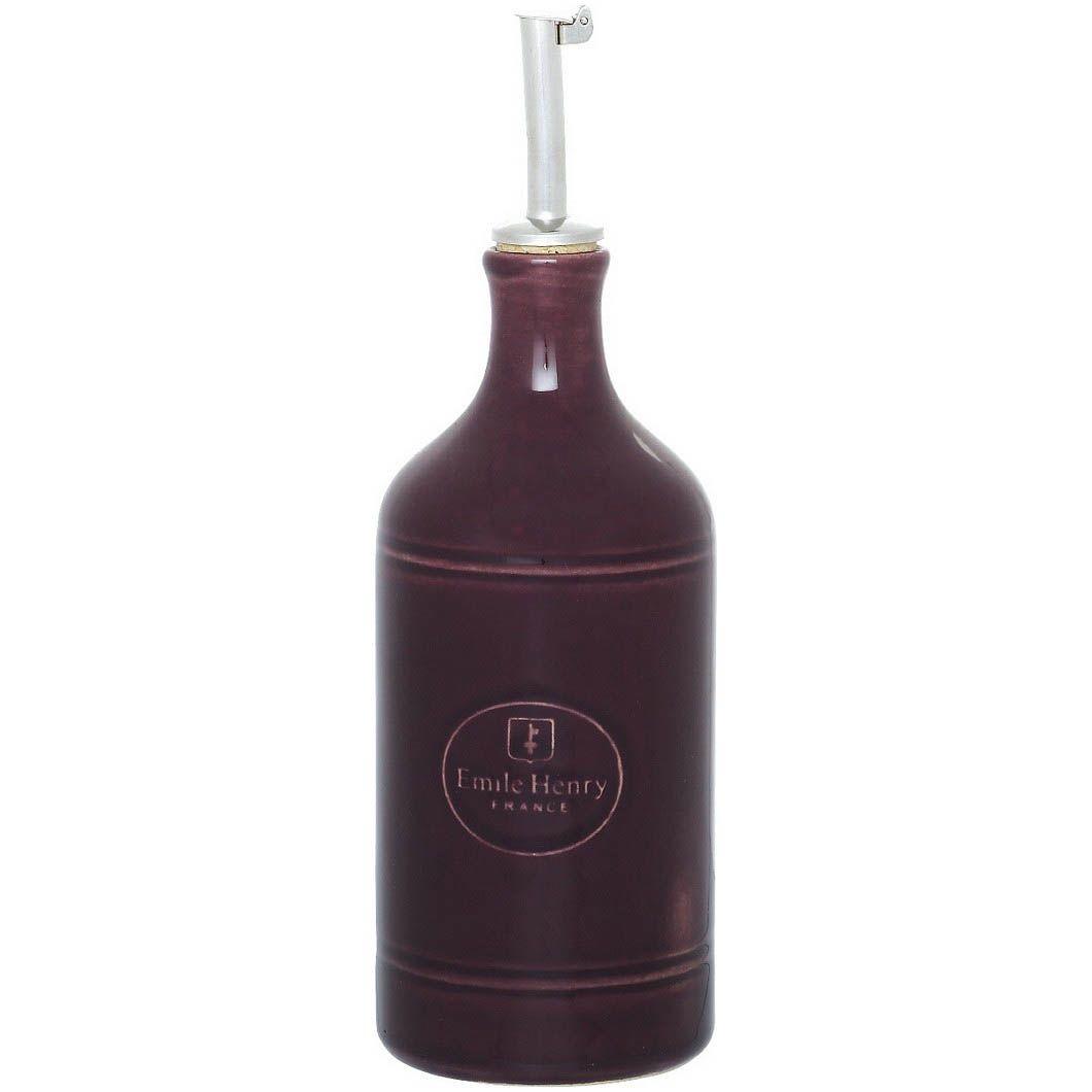 Бутылка для масла и уксуса Emile Henry Urban Colors Figue керамическая 450 мл