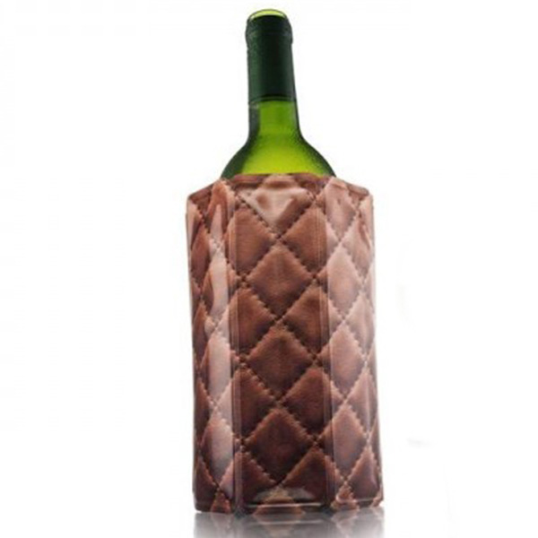 Охладитель Vacu Vin Leather для бутылки вина