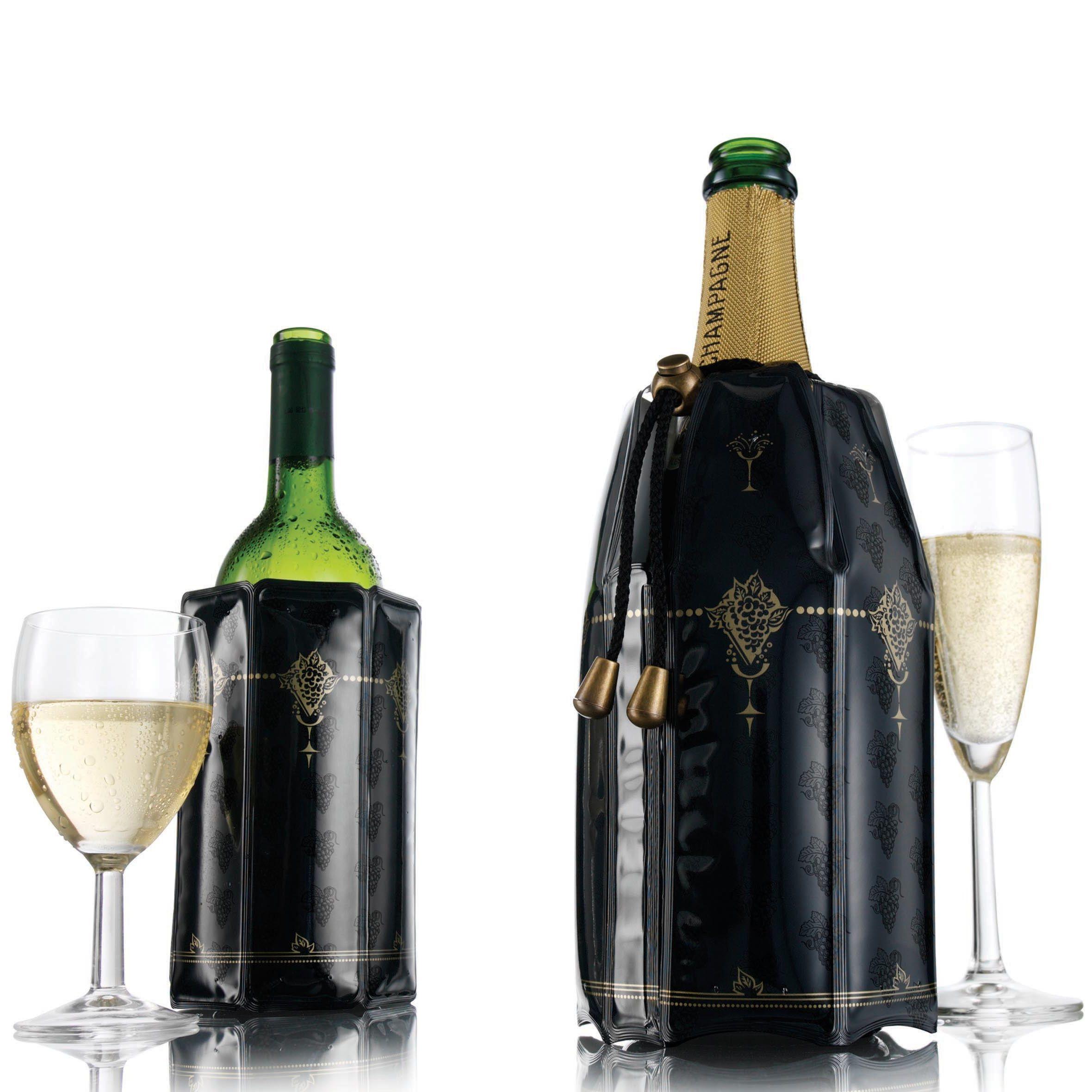 Набор охладителей Vacu Vin Classic для вина и шампанского