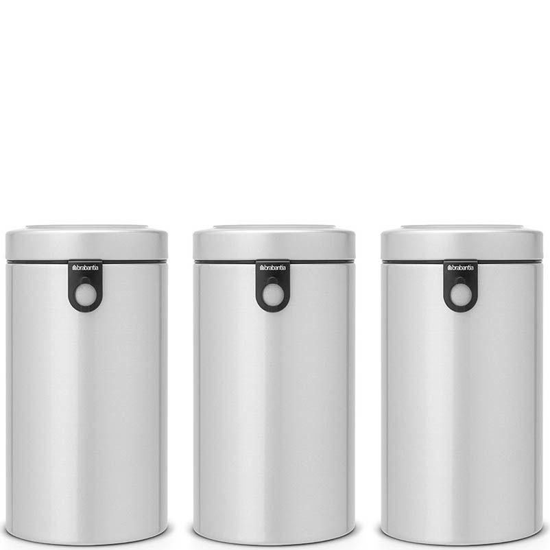 Набор емкостей для хранения Brabantia из 3 банок объем 1,7 л