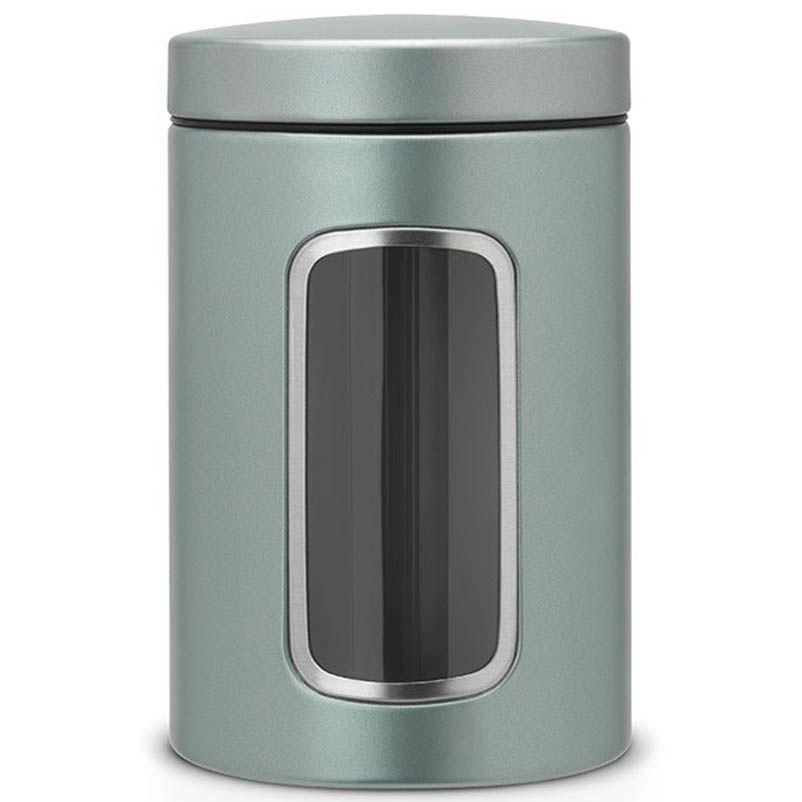 Емкость для хранения Brabantia стальная с прозрачным окошком