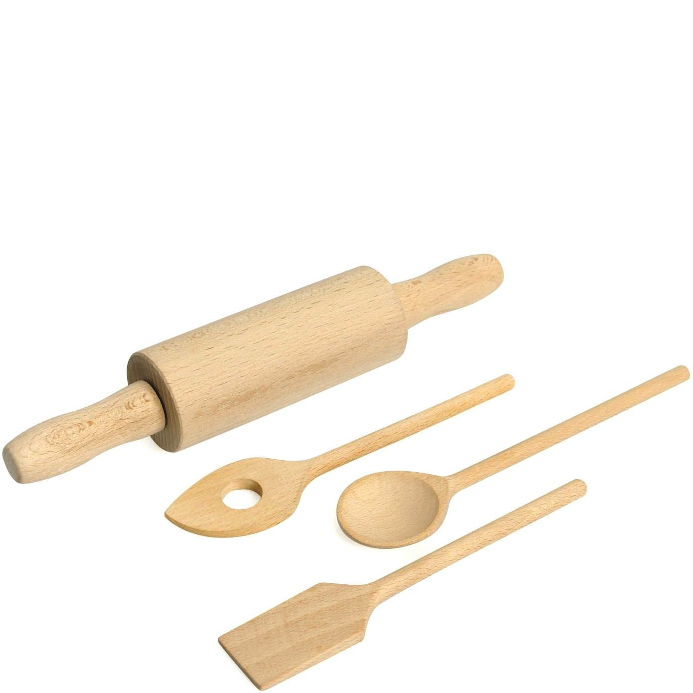 Набор аксессуаров для выпечки Kaiser Backform Bake And Play детский из бука