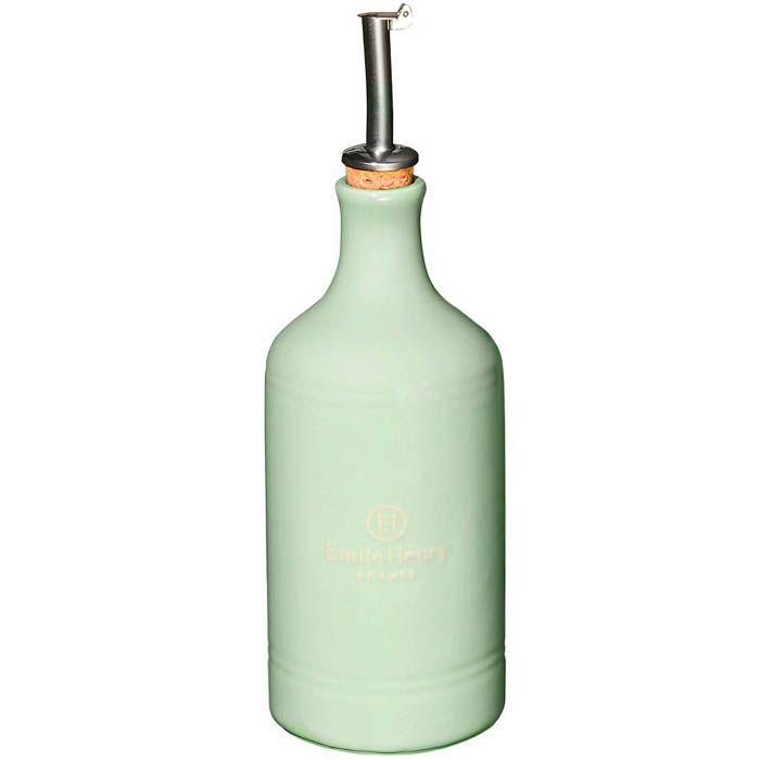 Бутылка для масла и уксуса Emile Henry Natural Chic Amande 450 мл антикап
