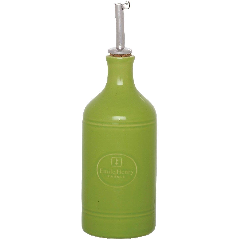 Бутылка для масла и уксуса Emile Henry Urban Colors Granny керамическая антикап