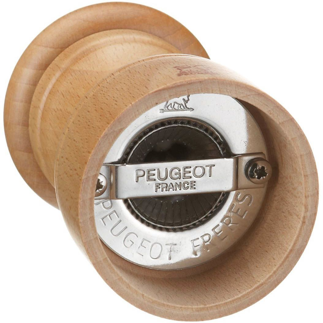 Компактная мельница для перца Peugeot Bistro Natural из бука 10 см