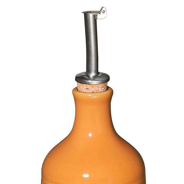 Бутылка для масла и уксуса Emile Henry Urban Colors Pamplemousse 450 мл антикап