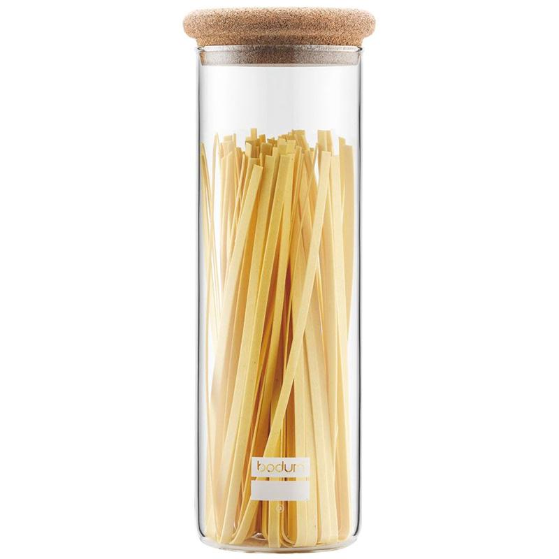 Банка Bodum Cork line для хранения спагетти 1,9л