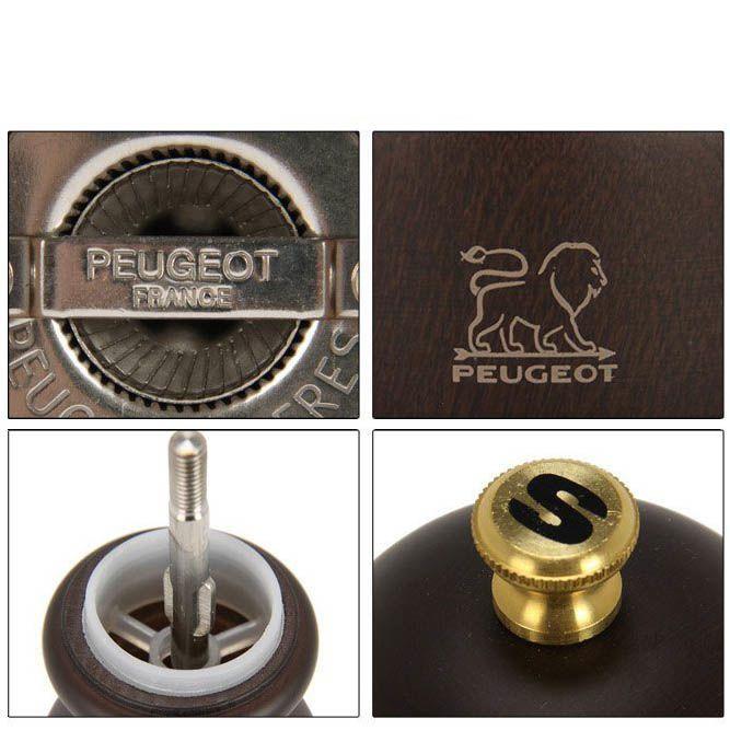 Мельница для соли Peugeot Paris 18 см темно-коричневая из бука