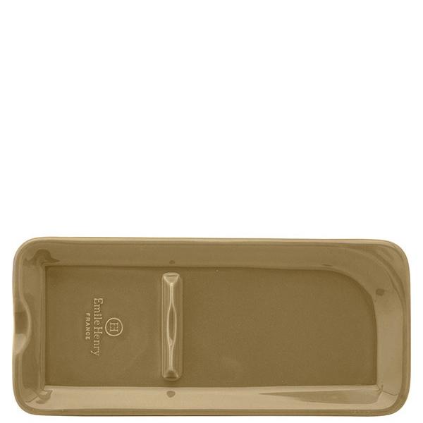 Подставка для ложки Emile Henry Kitchen Tools коричневая