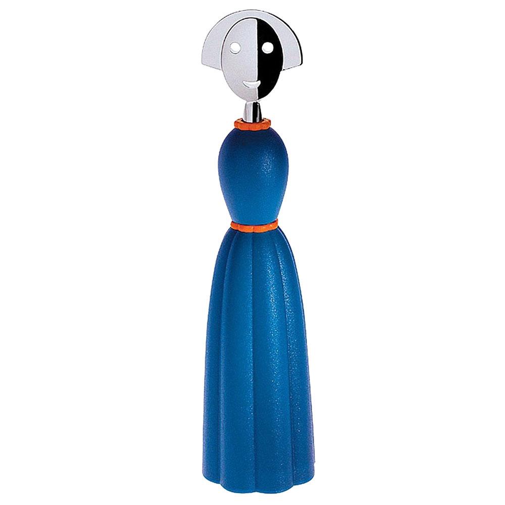 Мельница для перца Alessi Anna Pepper голубого цвета
