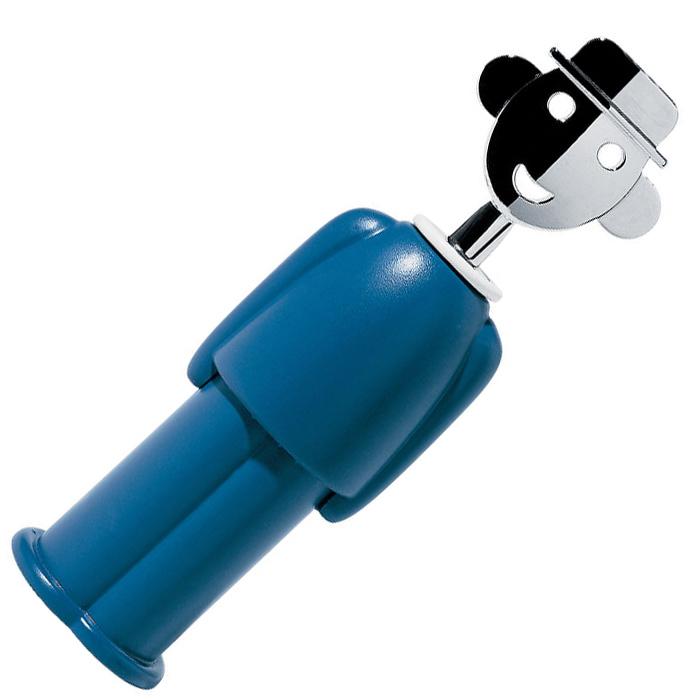 Механический штопор Alessi Alessandro М синего цвета