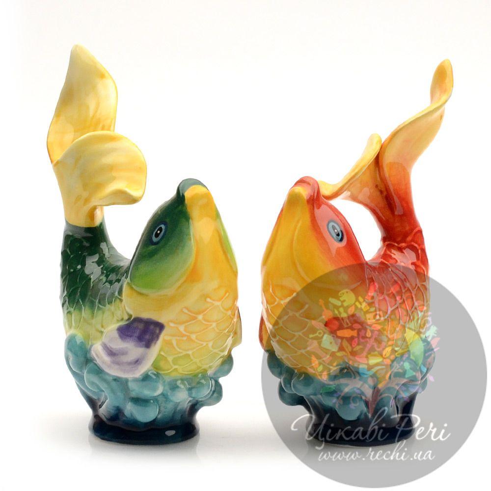 Набор Blue sky соль-перец «Золотая рыбка»