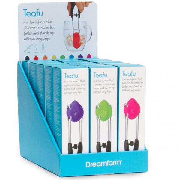 Заварник для чая Dreamfarm Teafu DFTE8104 фиолетовый