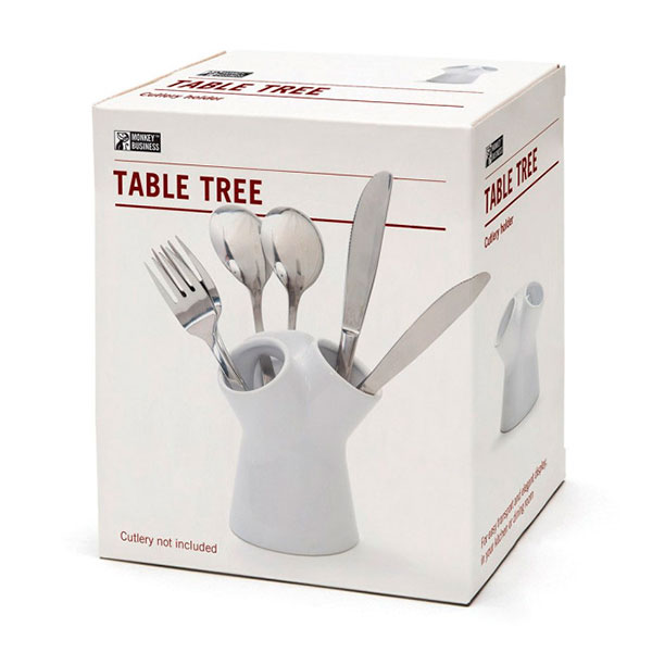 Подставка для столовых приборов Monkey Business Table Tree