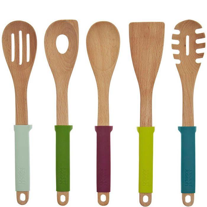 Набор кухонных приборов Elevate Joseph Joseph деревянный