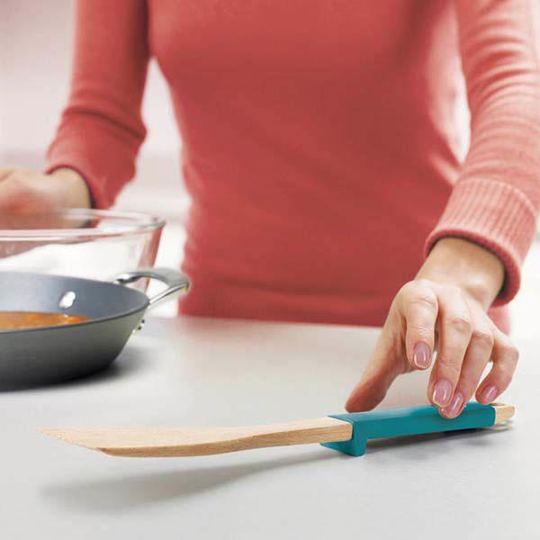 Набор кухонных приборов Elevate Joseph Joseph деревянный с яркими ручками