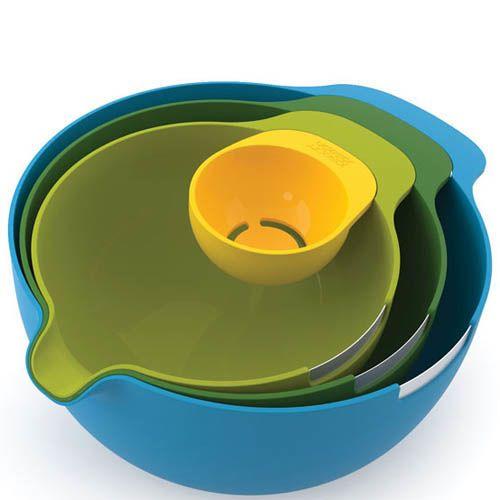 Набор мисок для смешивания Joseph Joseph с сепаратором для яйца
