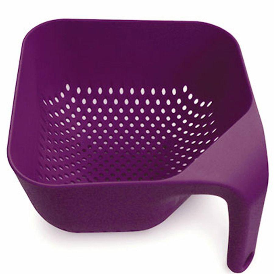 Дуршлаг Joseph Joseph Square Colander квадратный средний пурпурный